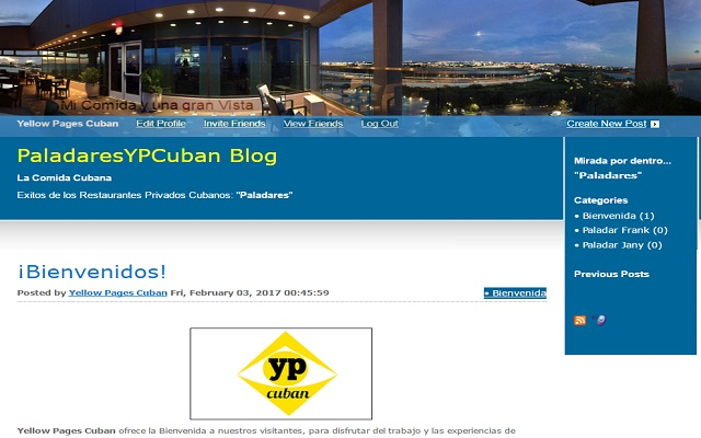 PaladaresYPCuban Blog