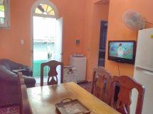 Apartamento Christian y Galia, vista del comedor a la sala