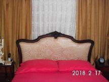 Héctor Suris, tapicería en muebles de estilo, respaldar de cama matrimonial