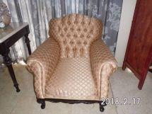 Héctor Suris, tapicería en muebles de estilo, butaca